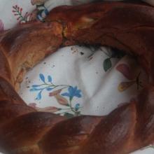 Colac il pane rumeno delle feste