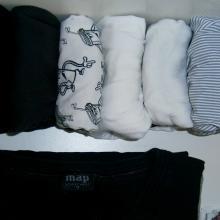 Come piegare a pacchetto intimo e indumenti