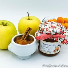 Confettura di mandarini cinesi, mela e cannella