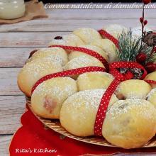 corona natalizia di danubio dolce