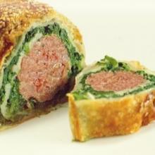 Cotechino e spinaci in crosta (bimby)