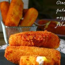 Crocchette di patate ripiene di formaggio