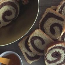 Fette biscottate bicolore - repost con ricetta passo passo