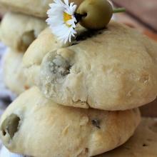 focaccine con le olive