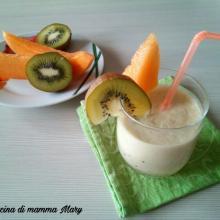 Frullato al kiwi e melone