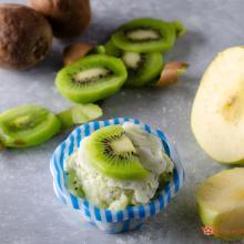gelato kiwi e mele