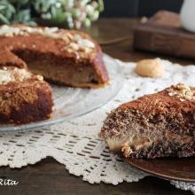 La crescionda, antica torta di spoleto. unico impasto tre consistenze