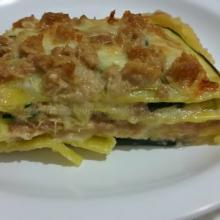 Lasagne alle zucchine e tonno
