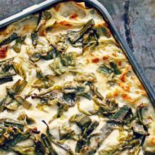 Lasagne carciofi e prosciutto
