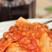 Le mafaldine o lasagnette con ragù a  sorpresa