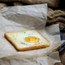 Le uova nel cestino di v per vendetta