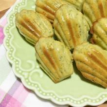 Madeleine ai pistacchi