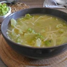 minestra di broccolo romanesco