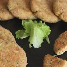 mini hamburger di verdure