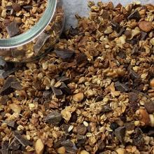 Muesli con cioccolato fondente - ricetta passo passo