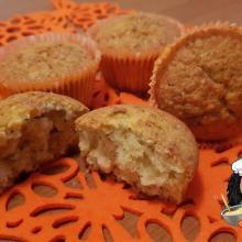Muffin dolci alle zucchine e mandorle