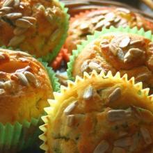 Muffin  salati con zucchine e ricotta