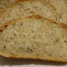 Pan ciabatta con crusca e mix di semi