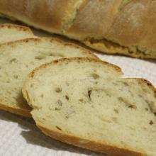 Pan ciabatta con germe di grano, lievito madre e semi di girasole