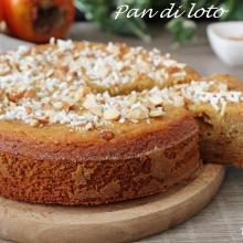 pan di loto ovvero la torta di cachi
