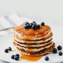 Pancakes con eritritolo