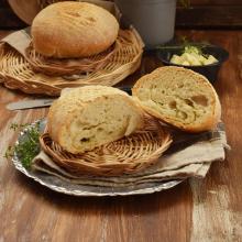 Pane sfogliato al timo