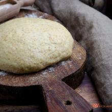 Pasta brisè integrale all'olio extravergine di oliva