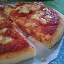 Pasta per la pizza con la tecnica delle pieghe