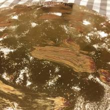 Pasta pistacchio e gambero rosso di mazara