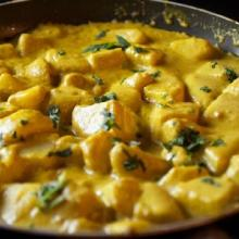 Patate al curry (india)