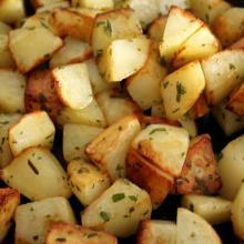 Patate con aromi