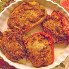 Peperoni con tonno e mozzarella