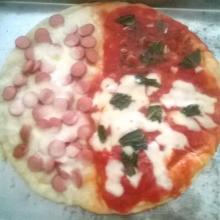 Pizza Sfiziosa a Tre Gusti