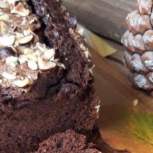 Plumcake yogurt greco e cioccolato fondente