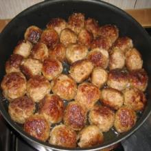 Polpette svedesi (köttbullar)