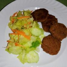Polpette veloci di carne due cotture al forno e in padella