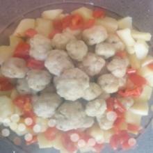 Polpettine di pesce persico (bimby)