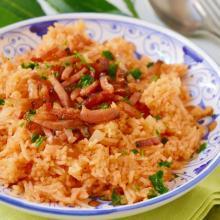 Red rice della cultura gullah-gheechee