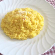 Risotto giallo allo zafferano