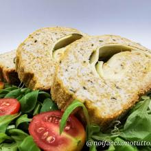 Rollè di pollo light con scamorza e zucchine