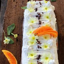 Semifreddo veloce cioccolato e arancia