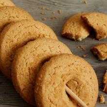 shortbread cookies a ciambella