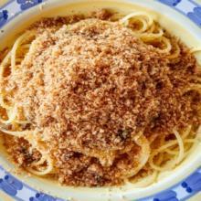 Spaghetti alla vulcanara (eolie)