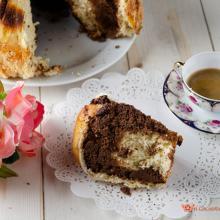 torta delle rose con crema alle nocciole nel fornetto versilia