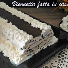torta gelato fatta in casa senza gelatiera