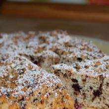 Torta light ricotta e cioccolato (senza burro e senza uova)