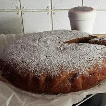 Torta morbida con farina di castagne - ricetta passo passo