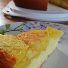 torta nuvola all'ananas