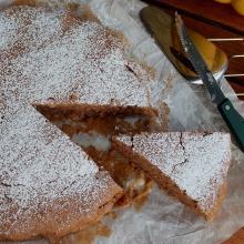 torta ovomaltina senza burro e uova