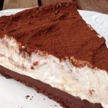torta quasi gelato al cappuccino